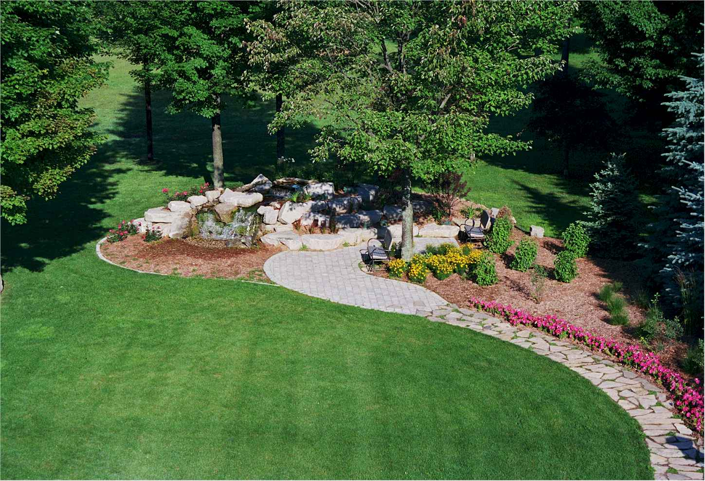 What 39 s in a yard keys to excellent landscaping for plano for Best landscape designers