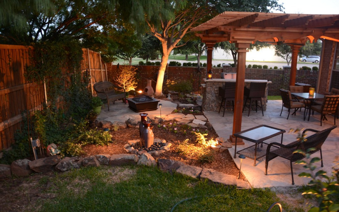 Outdoor Back Yard Project September 2015